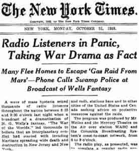 radio drama graphic