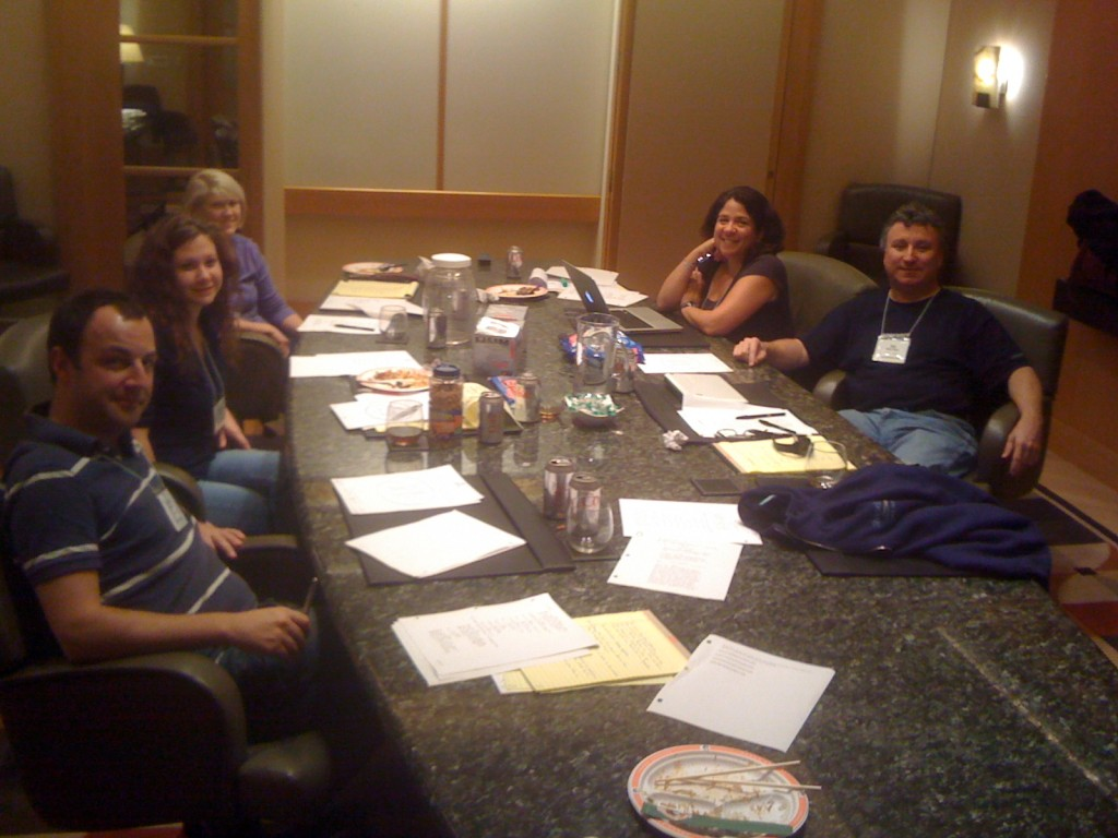 TV sitcom writing workshop