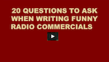 Writing Funny Radio Commercials