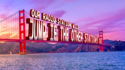 "Radio Station Voice ""Endorsing"" the Advertiser"
